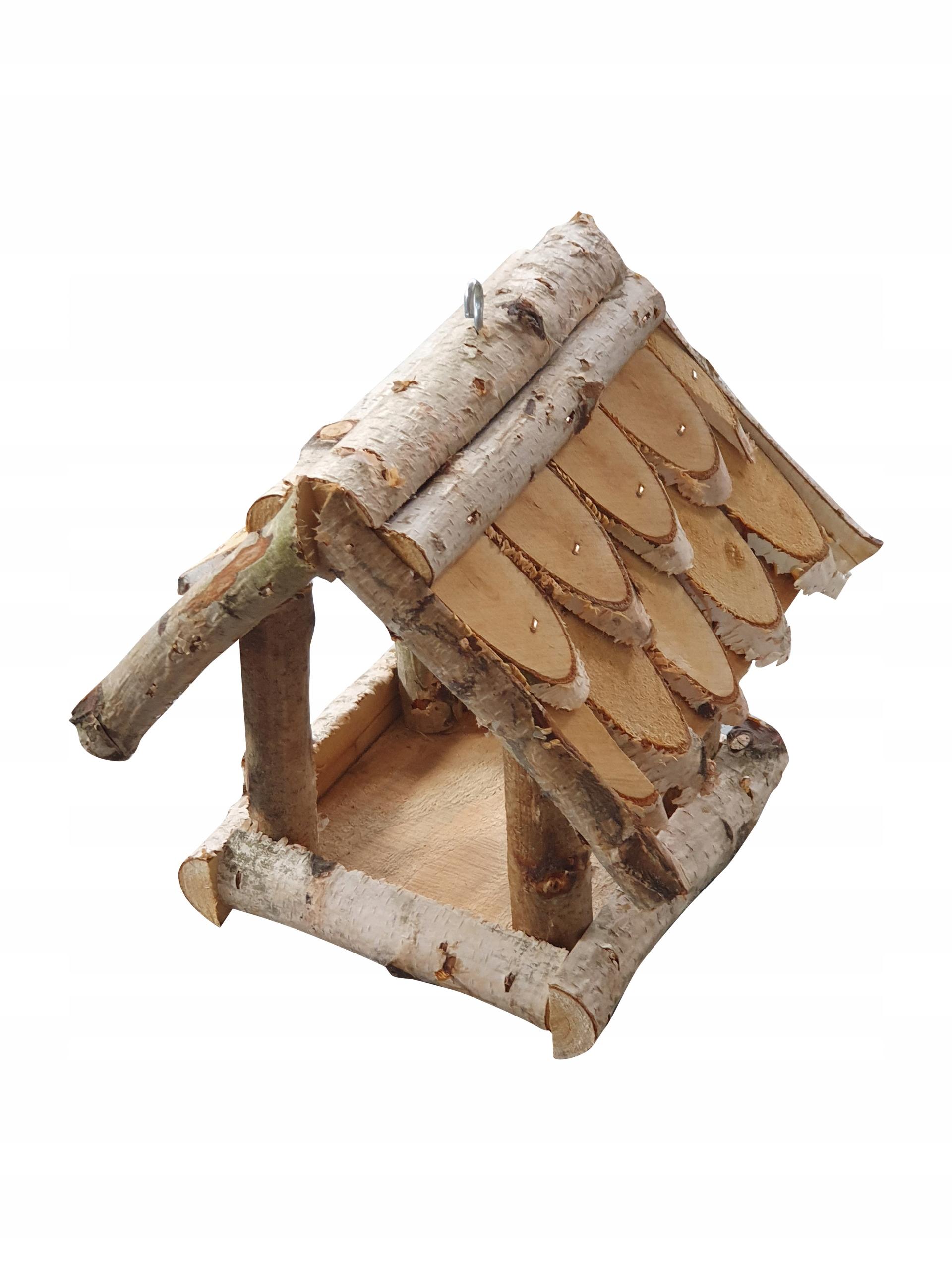 karmnik dla ptaków zimujących budka domekproducent