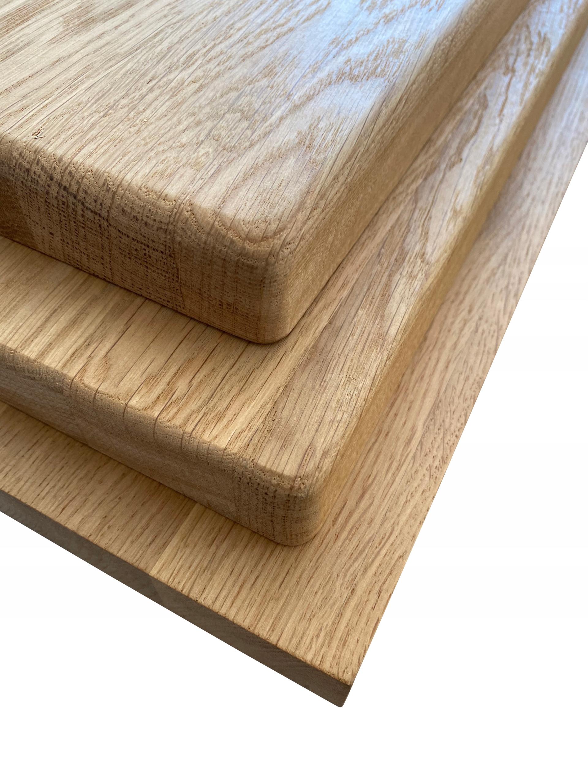Drewniany Parapet Dab Bez Sekow 100x22cm Gr 2 Cm 9338920281 Allegro Pl