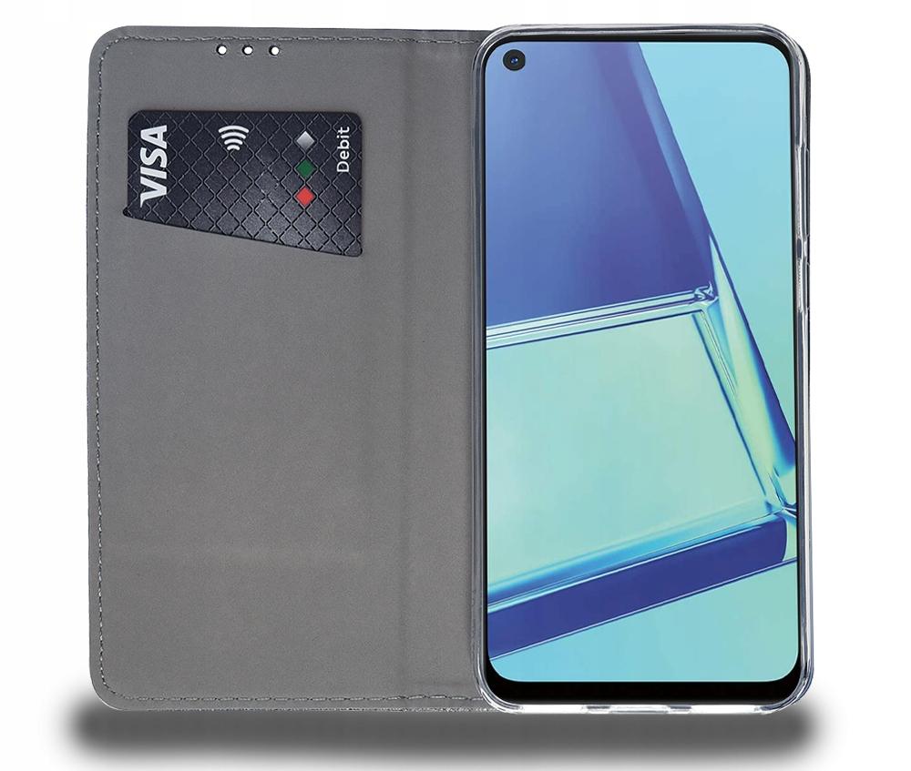 Etui do Oppo A52 A72 A92 Case Magnet Portfel Szkło Dedykowany model A52