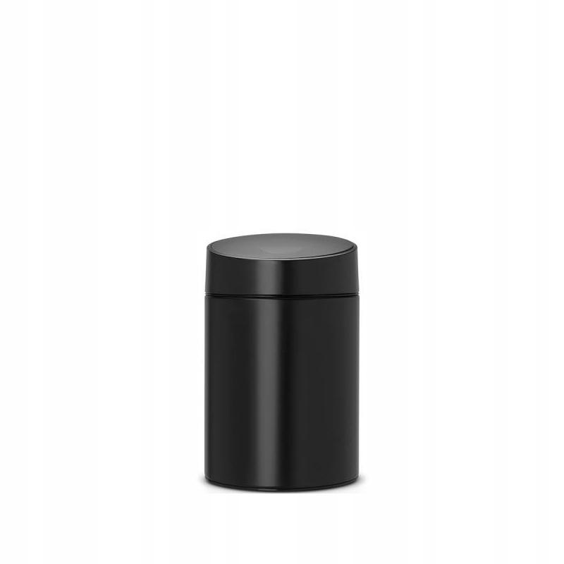 Kúpelňový kôš Posuvný kôš 5L Brabantia čierna