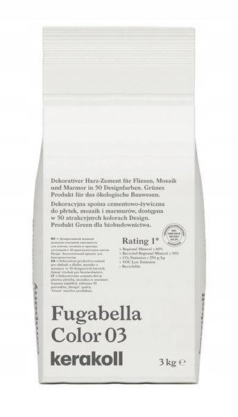 KERAKOLL Fugabella Color 03 Fugue 3 кг