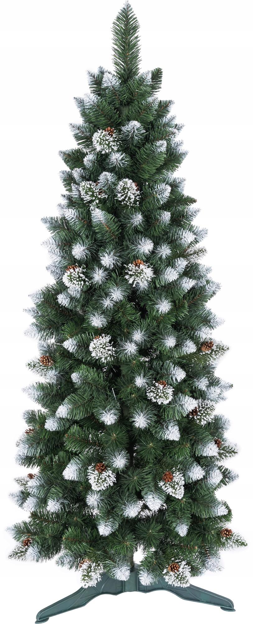 Umelý vianočný stromček Rosa Slim Pine 180 cm úzky HIT