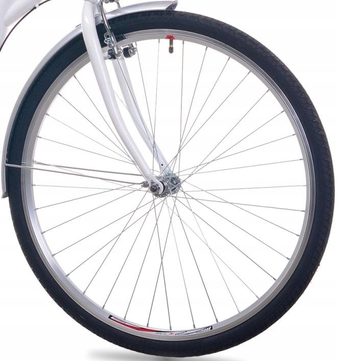 Dámsky mestský bicykel GRACE 26 Shimano 3b Dutch Frame, materiál oceľ
