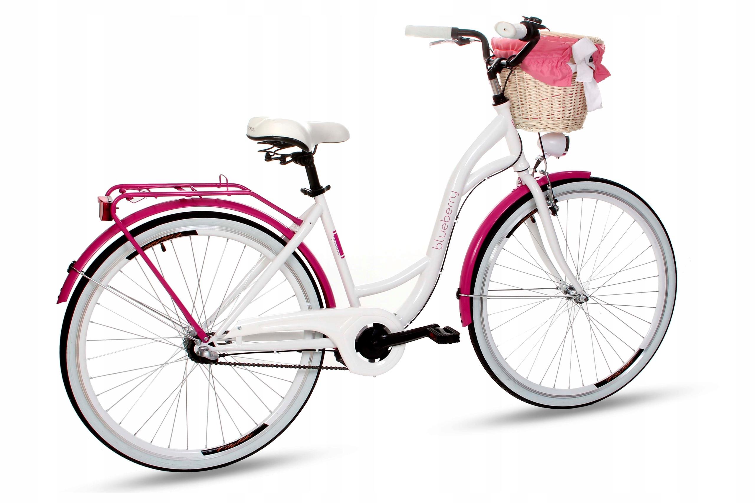 Dámsky mestský bicykel Goetze BLUEBERRY 28 3b košík!  Model Blu283b