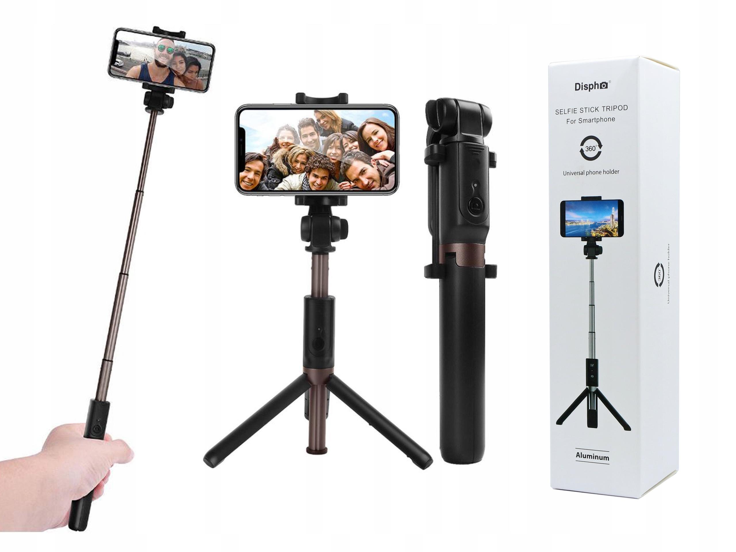 Selfie Stick Statyw Dispho Uchwyt Tripod Bluetooth 7450124716 Sklep Internetowy Agd Rtv Telefony Laptopy Allegro Pl