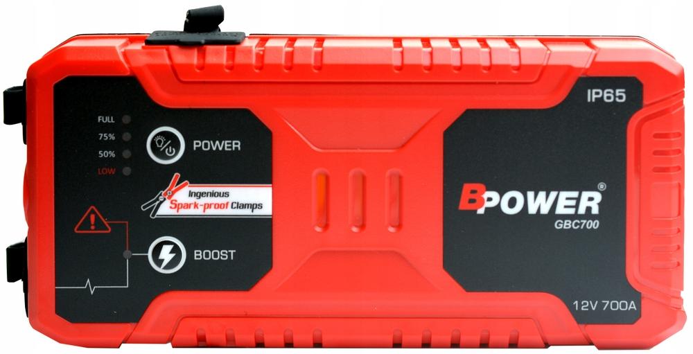 Купить BPOWER GBC700 BOOSTER Jump Starter 700A 15000mAh на Otpravka - цены и фото - доставка из Польши и стран Европы в Украину.