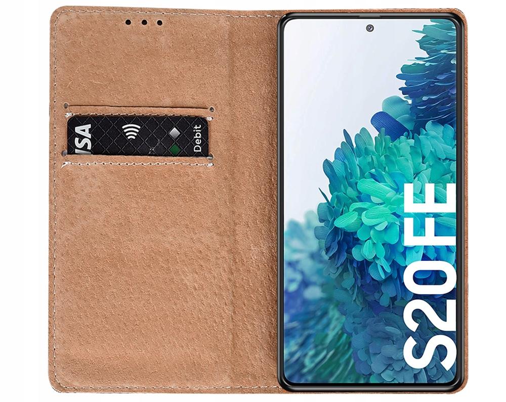 Etui do Samsung Galaxy S20 FE Skórzane Case Szkło Producent KrainaGSM