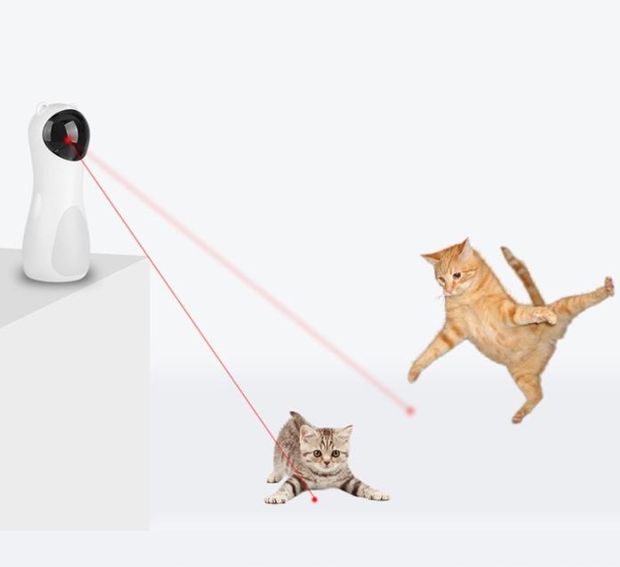 Automatyczna zabawka dla kota Laser LED USB Marka inna