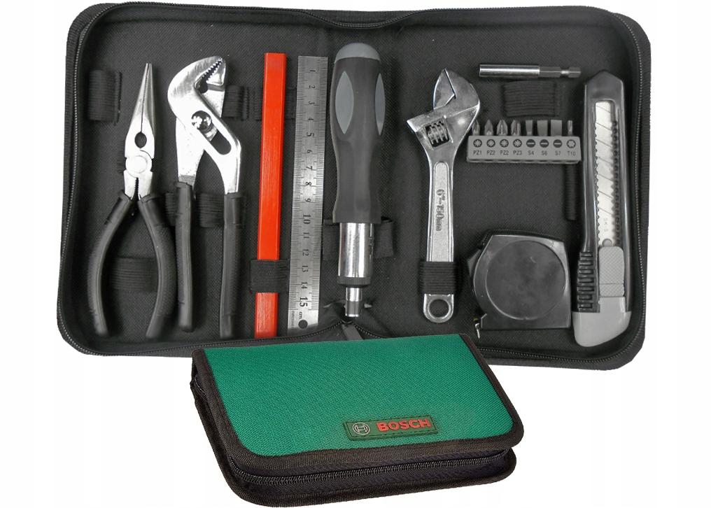 BOSCH Set17 zestaw narzędzi w etiu 17 elementów WP