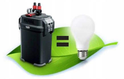 FLUVAL 307 внешний фильтр 1150L / h 15W ++бесплатно! Механический биологический химический тип