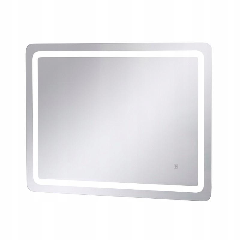 Зеркало для макияжа настенное LED с подсветкой 80x60