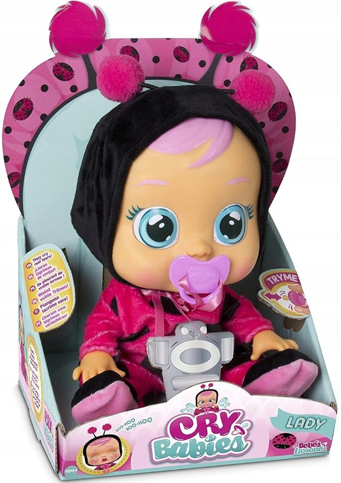CRY BABIES LADY THE CRYING BABIES INTERACTIVE BOLL