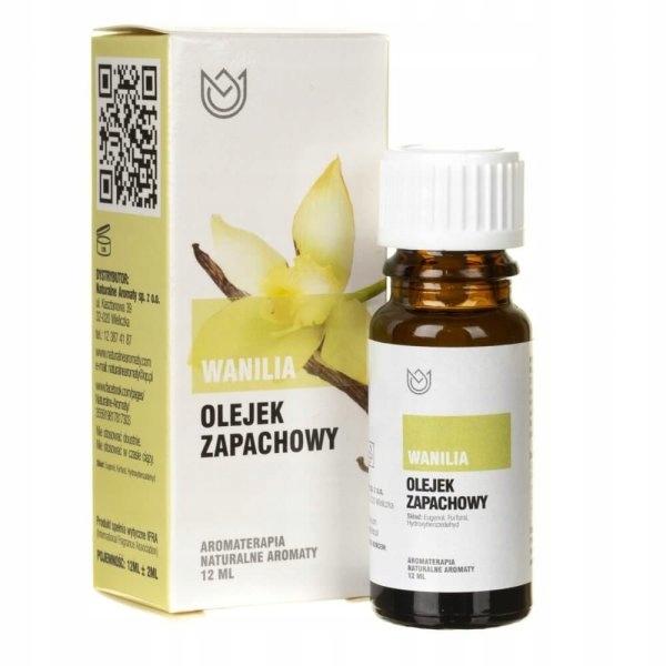 Naturalne Aromaty olejek zapachowy WANILIA 12ml
