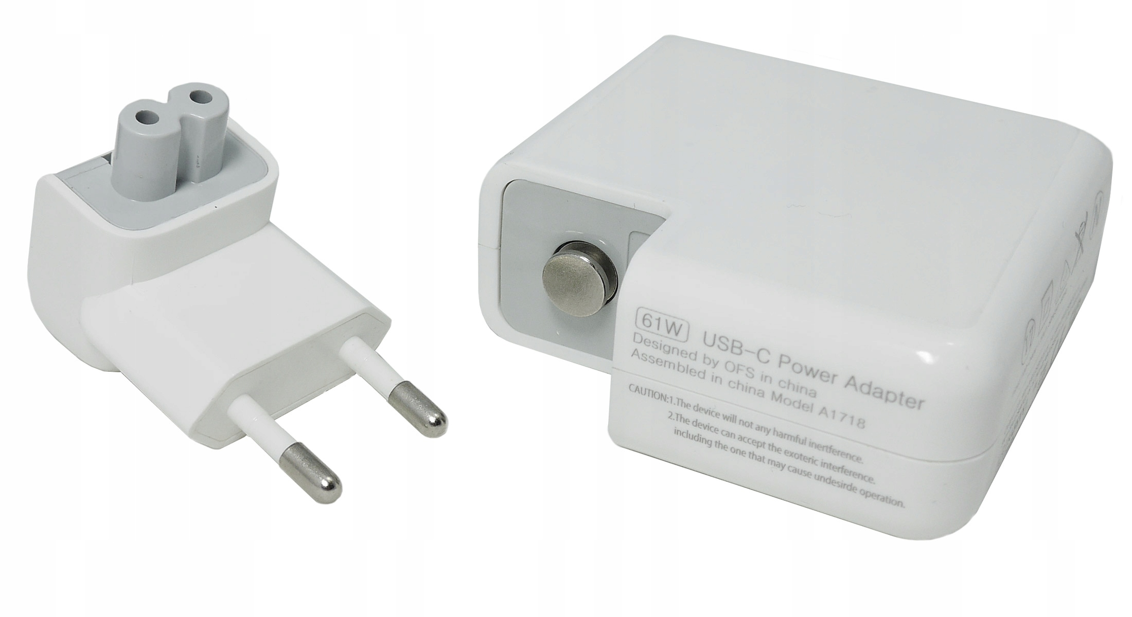 61W lader for APPLE 3A 20V USB-C Produsentkode LZ073