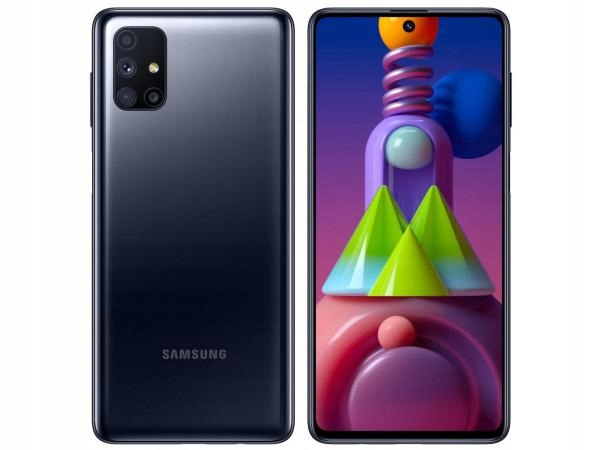 Smartfon Samsung Galaxy M51 6 128 Gb Czarny 9675927325 Sklep Internetowy Agd Rtv Telefony Laptopy Allegro Pl