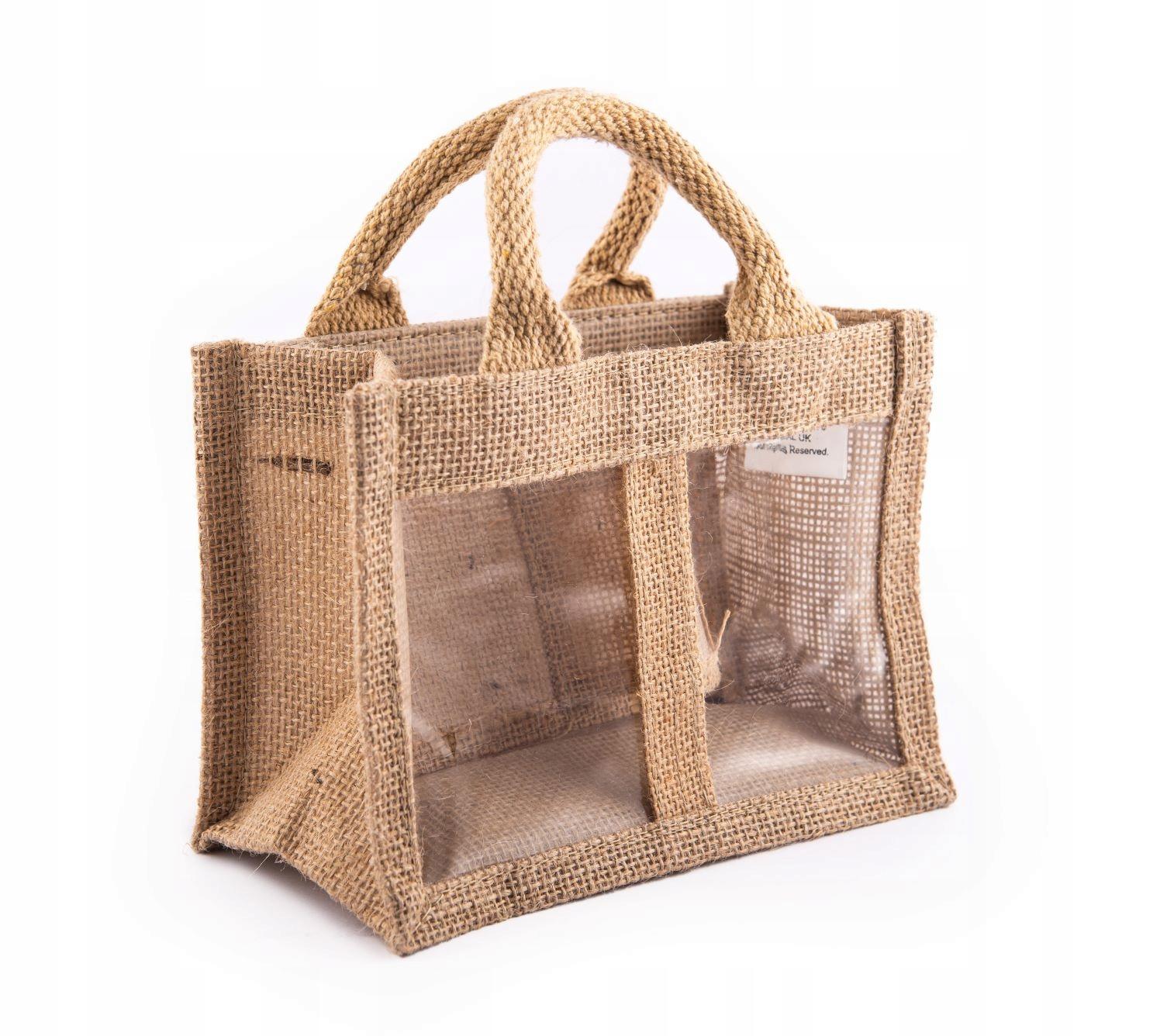 подарочная сумка из эко-джута Natural Present