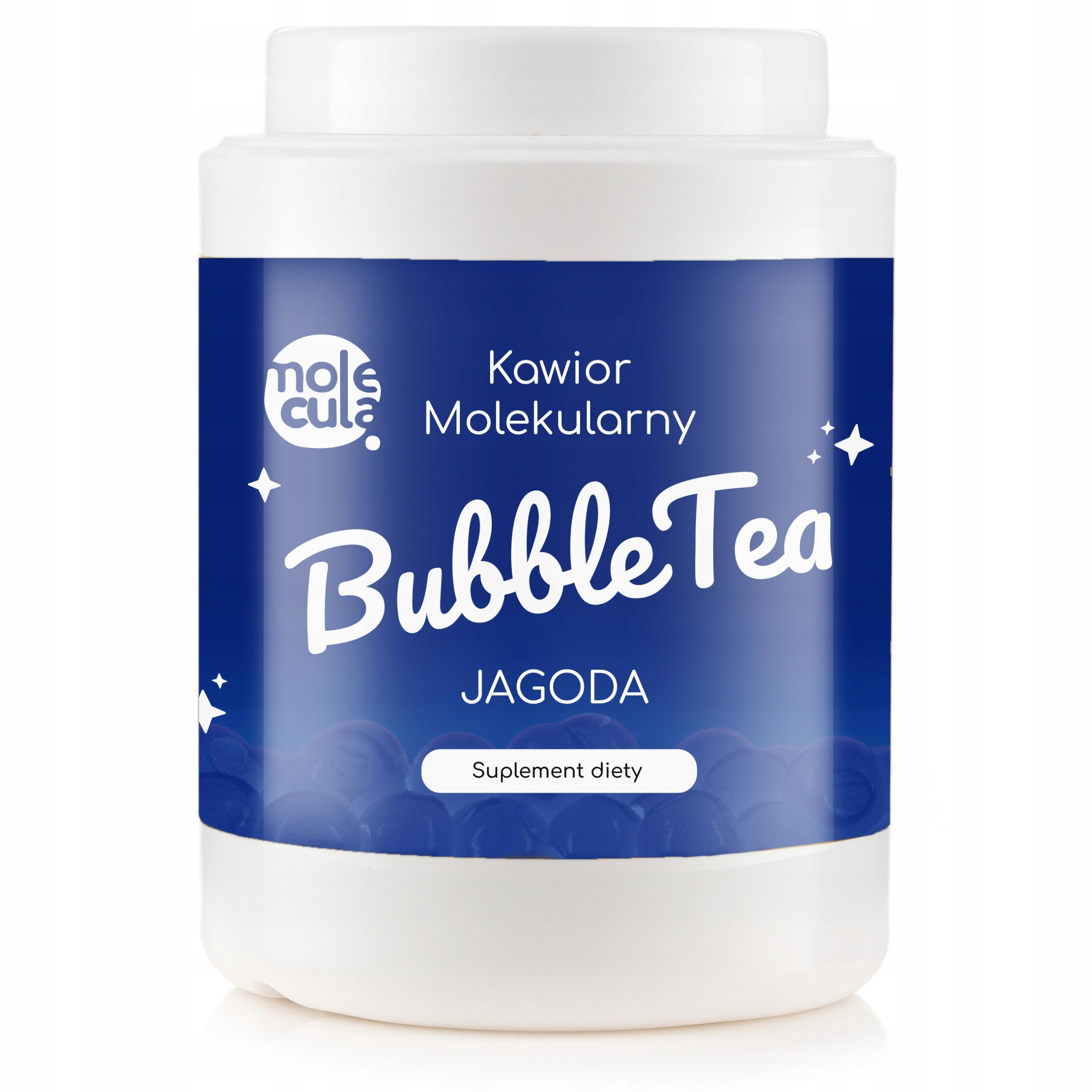 Пузырьковый чай BBs Molecular Caviar 2 KG BLUEBERRY