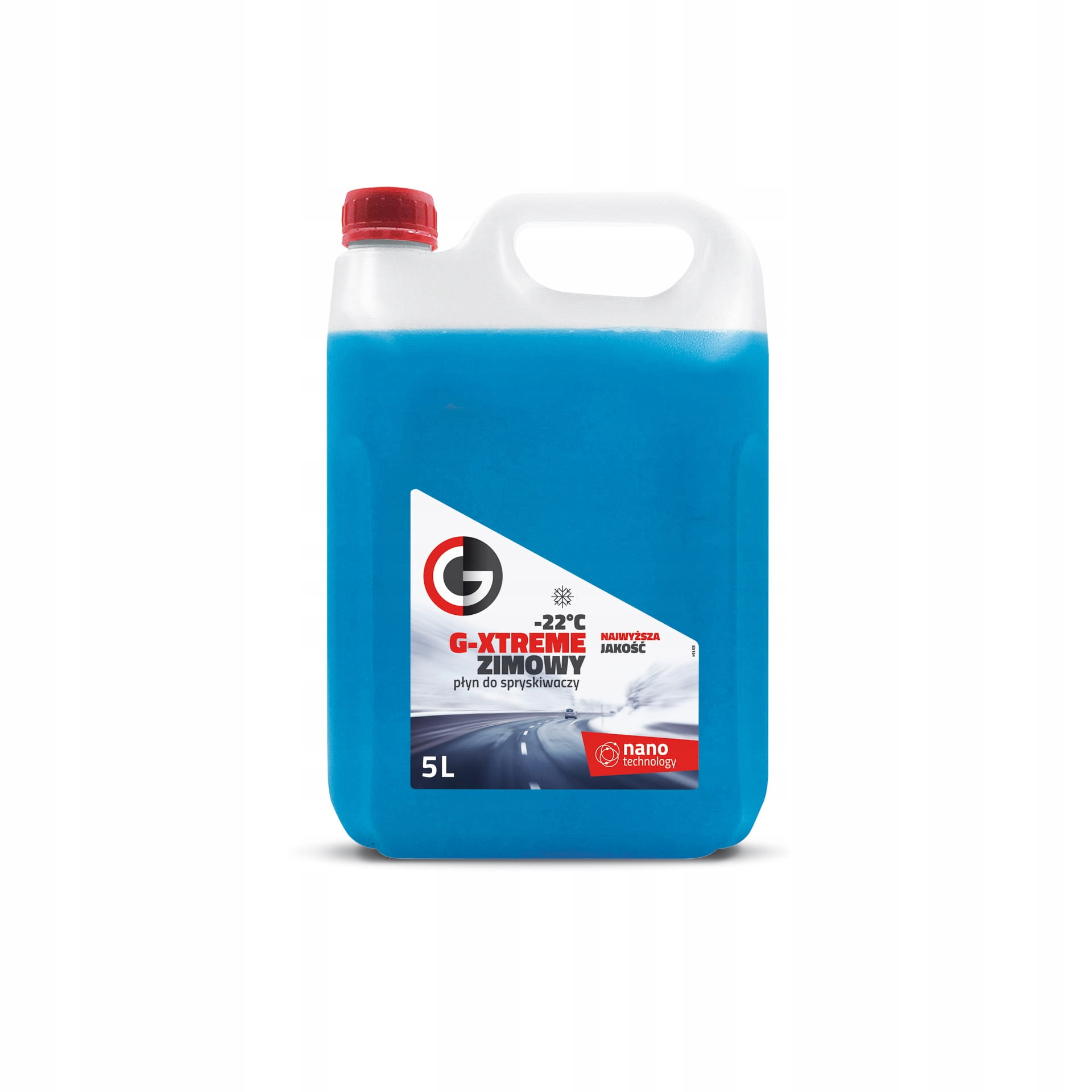 Zimowy płyn do spryskiwaczy -22 5 litrów dla firm