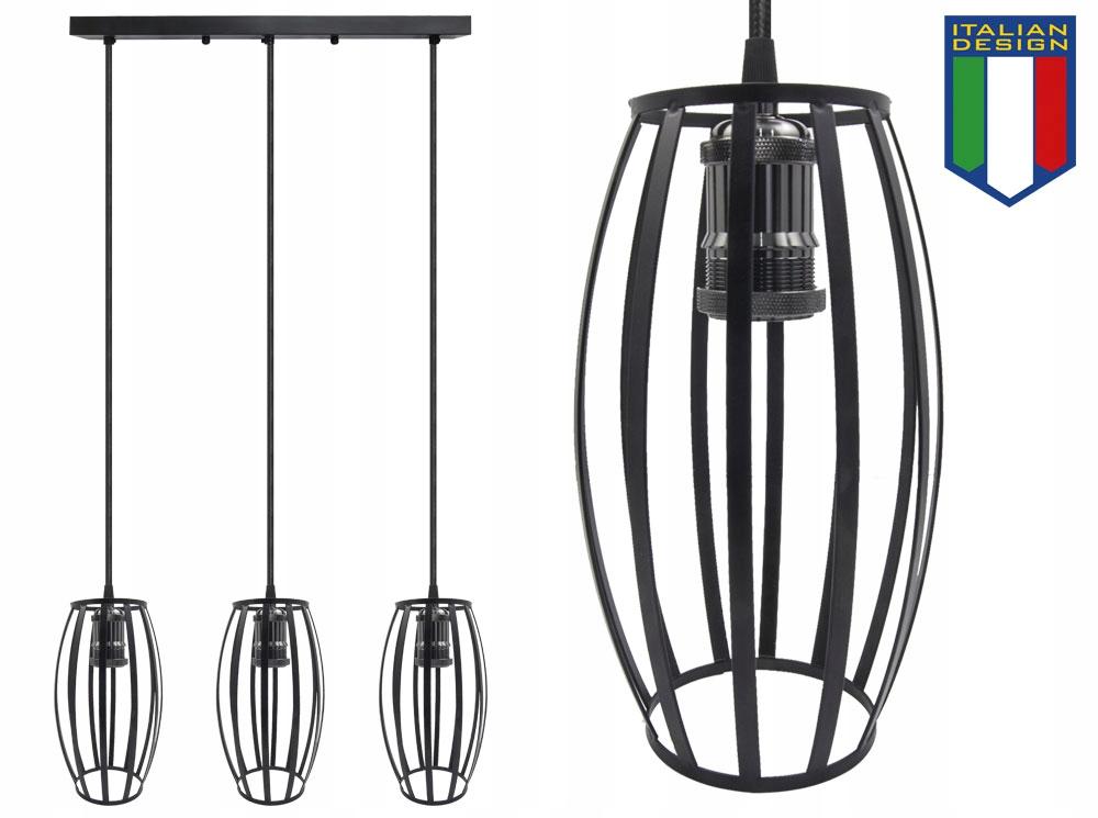 LAMPA SUFITOWA WISZĄCA LARGO ŻYRADNOL LED LOFT BC3 Marka B-LINE