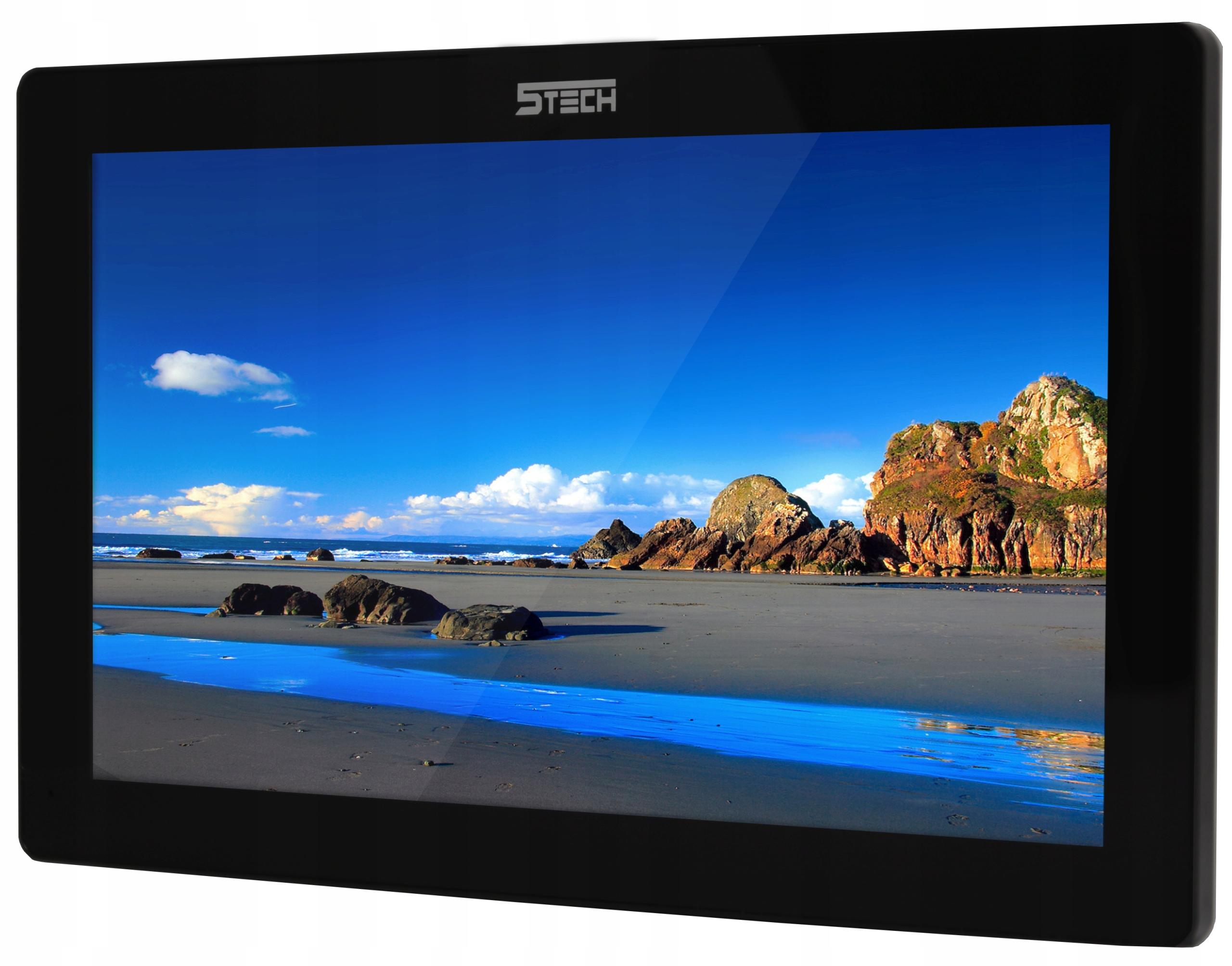 Wideodomofon Videodomofon 10' WiFi 5TECH FHD Kolor czarny
