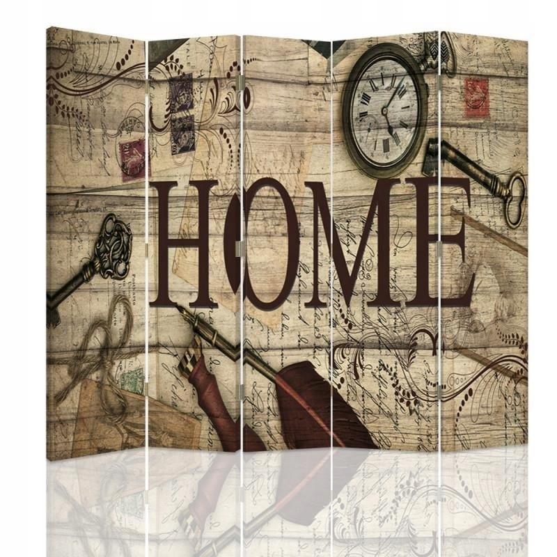 Displej na stenu Zloženie 180x150 domov vintage