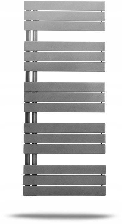 Kúpeľňový radiátor Elato H = 830 L = 450, 406W, biely