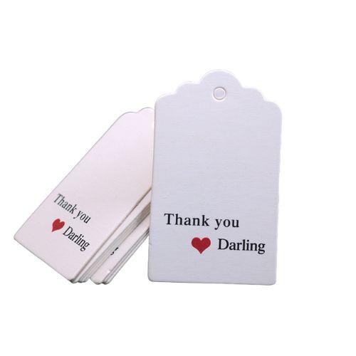 Этикетки для подарочных коробок Спасибо 10 шт.