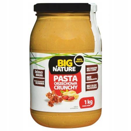 Big Nature Butter Crunchy арахисовая паста 1 кг