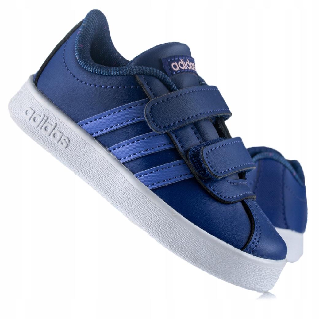 Adidas VL Court 2.0 CMF I B75983 детская обувь