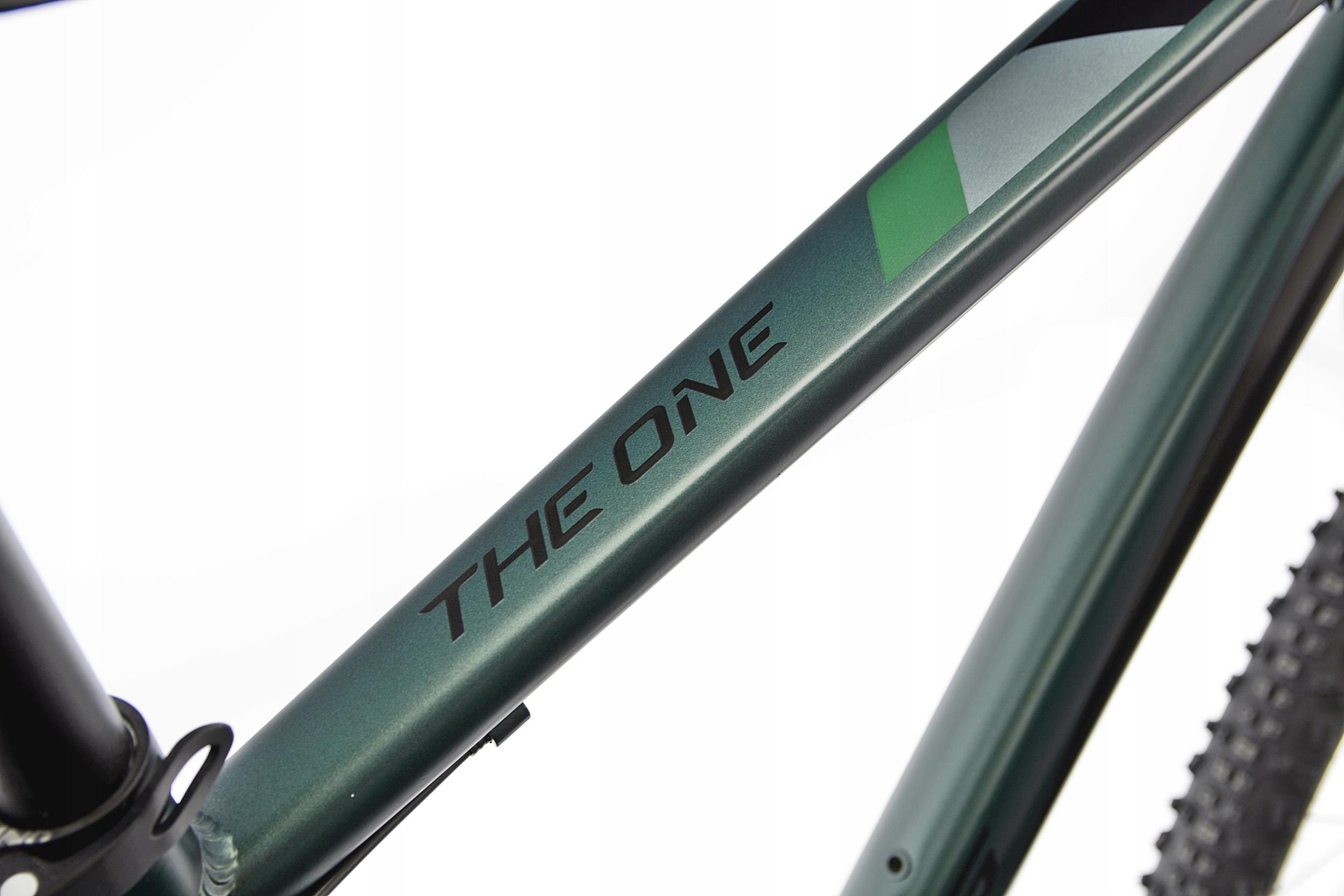 KANDS THE ONE rower mtb 29 VB altus 19 zieleń 2021 Wyposażenie dodatkowe stopka
