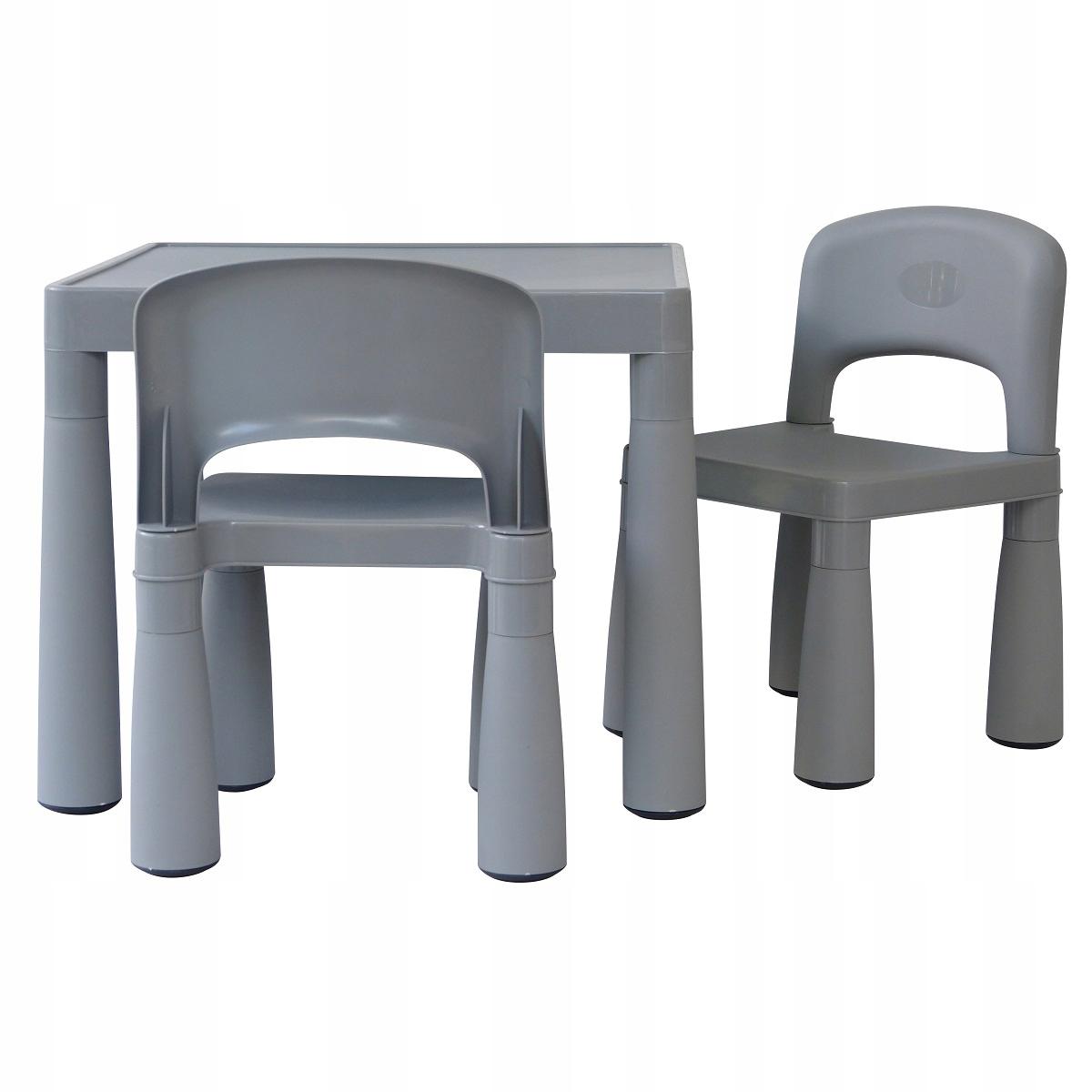 МАМОНТ 1 комплект столик+2 стульчики для кормления