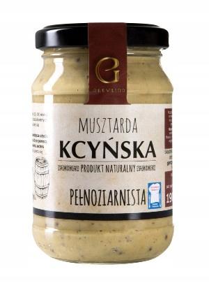 Musztarda Kcyńska Pełnoziarnista 190g