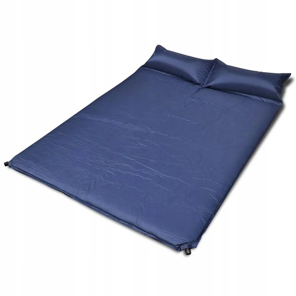 Modrá self-inflating život Mat 190x130x5 cm