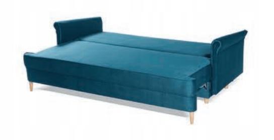 Sofa LUIS stilvolles Sofa f. Farben des Schlafbehälters Schlafbereich - Länge (cm) 181-190 cm