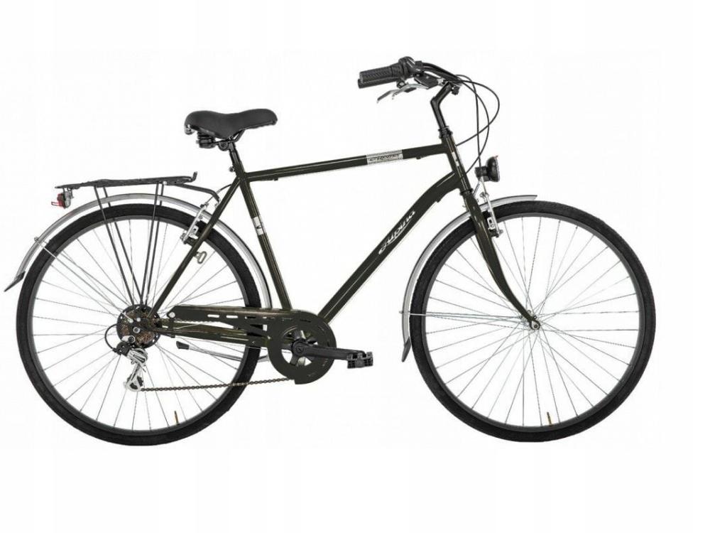 Pánsky ľahký mestský bicykel Alpina so 6 rýchlosťami
