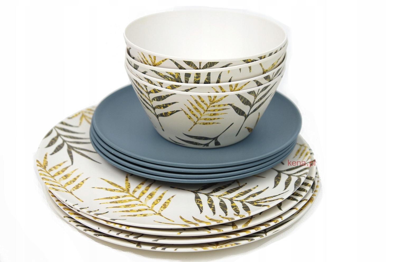 Купить Посуда, набор из 12 шт. Панда Бамбуковые чаши и тарелки на Otpravka - цены и фото - доставка из Польши и стран Европы в Украину.