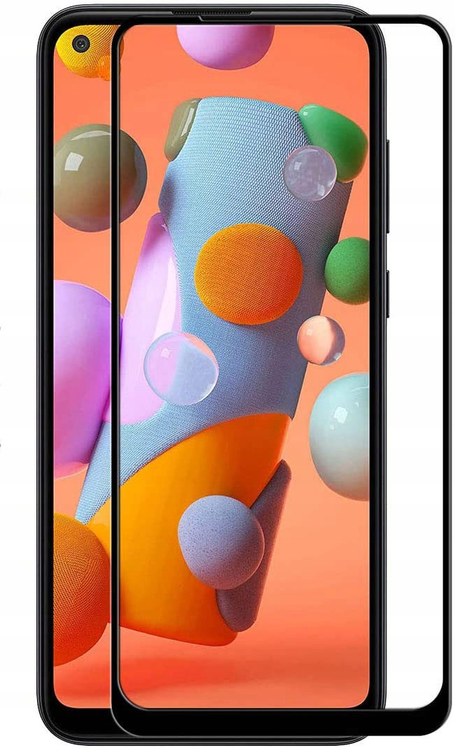 Szkło Hartowane Pełne do Samsung Galaxy A11 / M11 Konstrukcja powłoka oleofobowa zaokrąglone krawędzie zaokrąglone rogi
