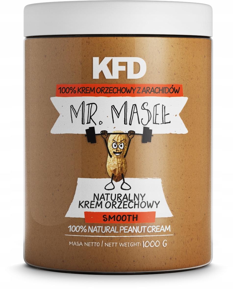 KFD Peanut Butter 100% - ГЛАДКАЯ ВЕРСИЯ - 1000 G