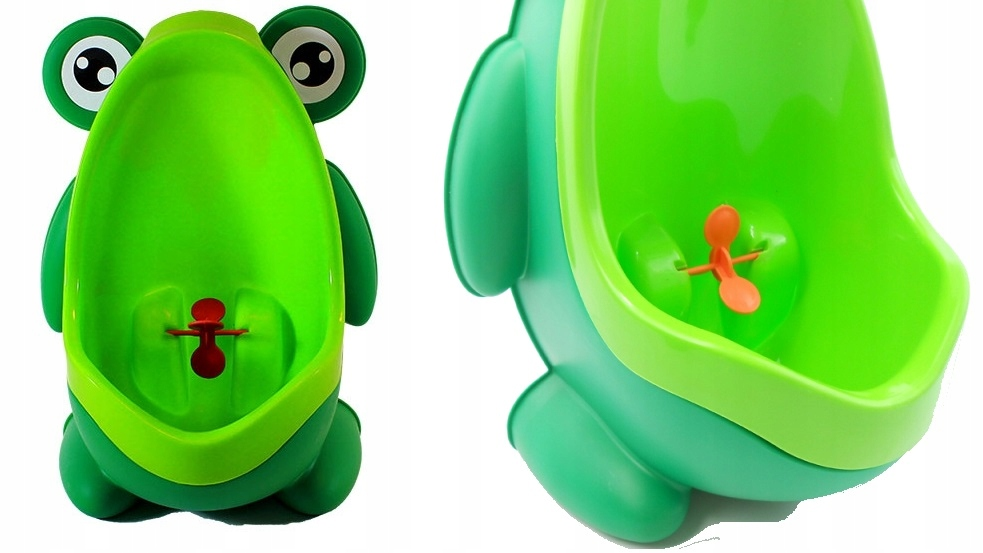 Item POTTY URINAL ON THE WALL FOR BABY BOY FROG
