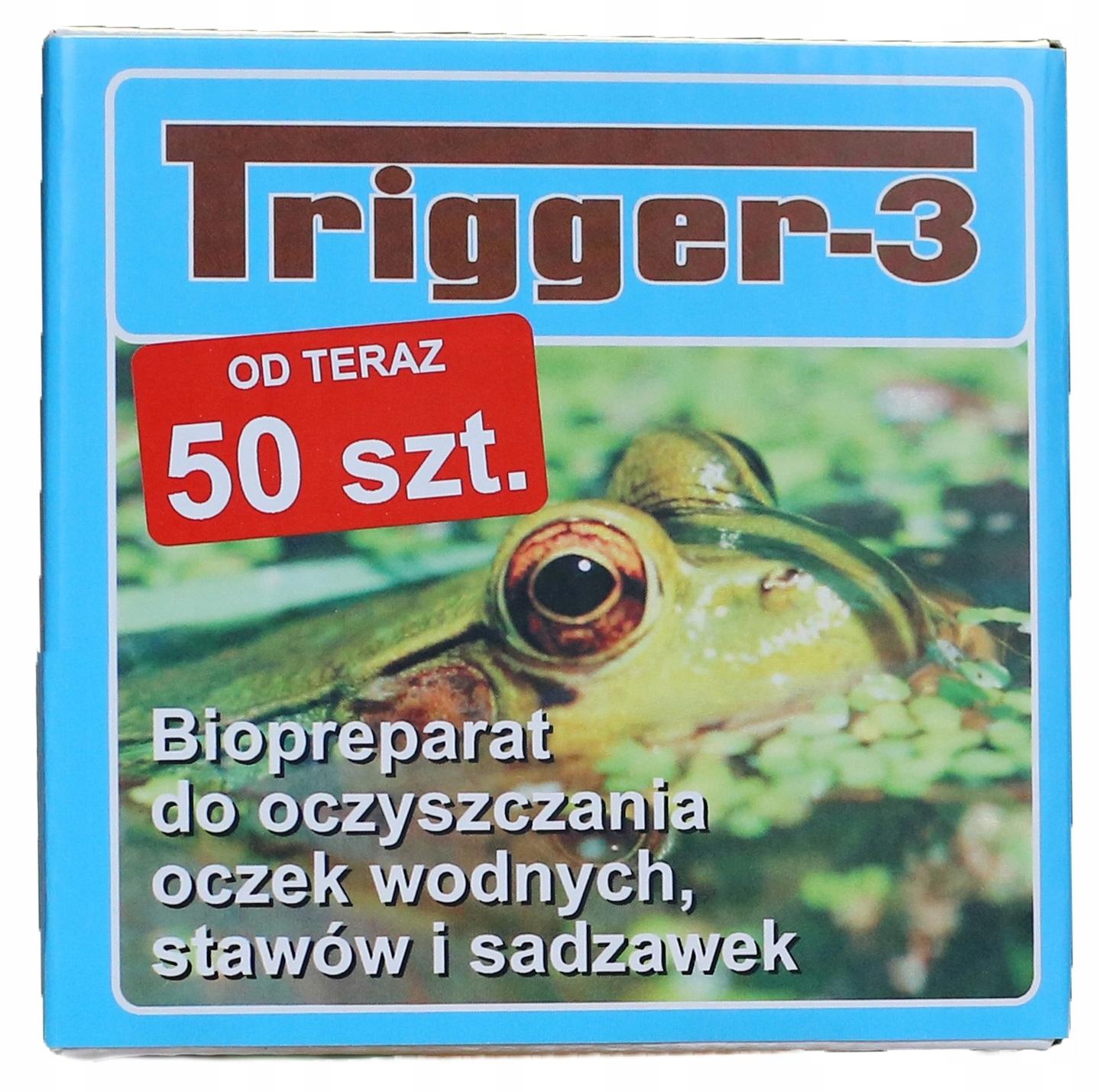 TRIGGER-3,50 BAKTERIE - CZYSTA WODA W OCZKU WODNYM