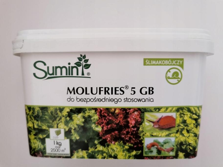MOLUFRIES 5GB 1 кг препарат агента ядовитых улиток
