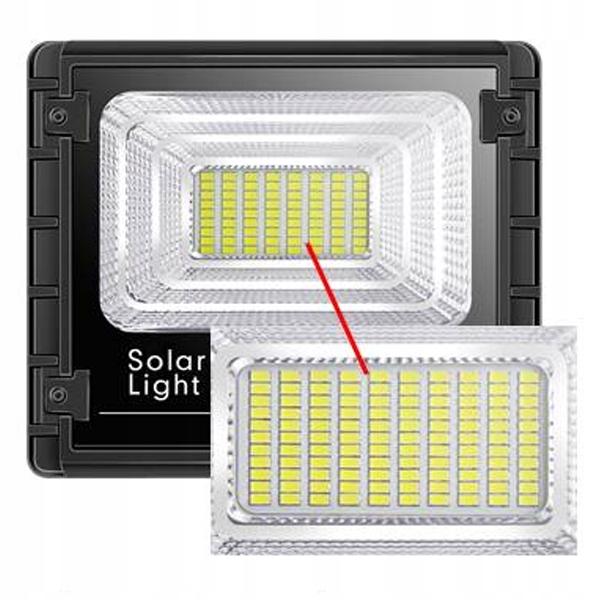 LAMPA ULICZNA LED HALOGEN LATARNIA SOLARNA 100W IR Informacje dodatkowe czujnik zmierzchu lampa solarna