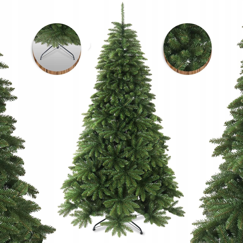 Umelý vianočný stromček na 220 cm kaukazskom smrekovom stojane