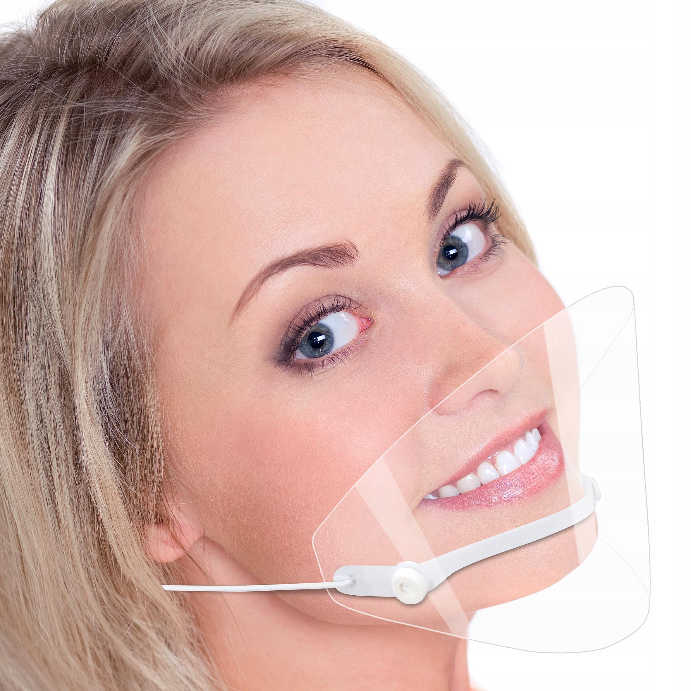 Maska mini przyłbica na nos i usta najlżejsza HVWH