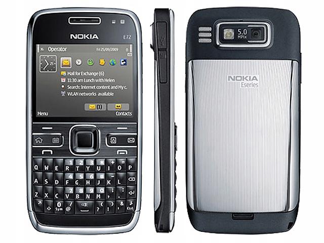 Nokia E72 3-считыватель излияния Branbatia серебро? Ravado Халяву