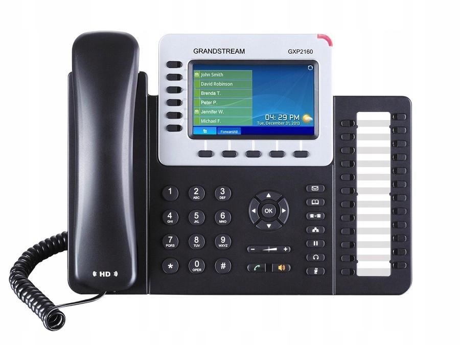 Купить GRANDSTREAM ТЕЛЕФОН MCHQ40V12A GXP 2160 HD-MUX-8 на Eurozakup - цены и фото - доставка из Польши и стран Европы в Украину.
