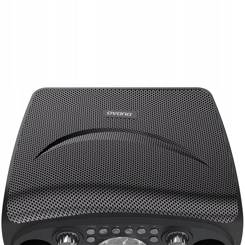 Zestaw do karaoke 2x Mikrofon Głośnik Oświetlenie Model Y15 black