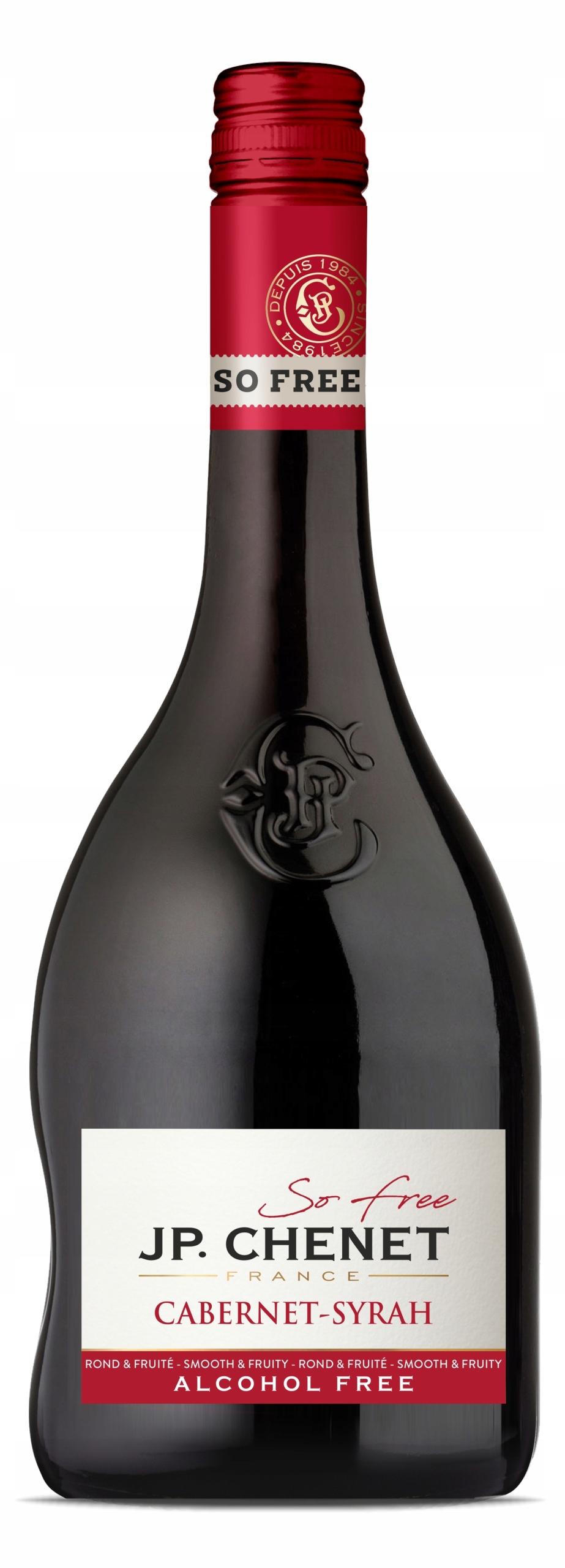 Французское вино J.P. Шене Каберне / Сира 0%