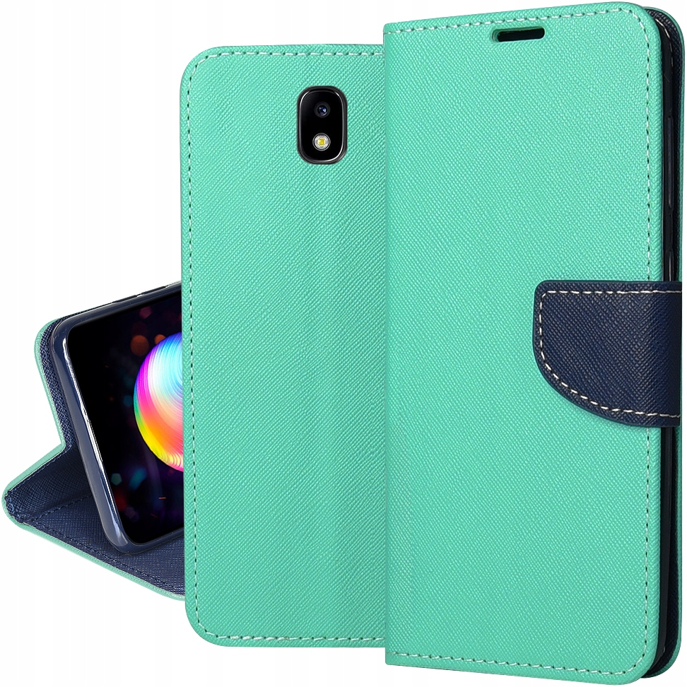 Etui do SAMSUNG GALAXY J3 2017 Portfel FANCY SZKŁO