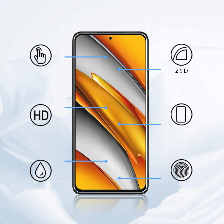 Szkło Hartowane Płaskie 9H do Xiaomi Poco F3 Producent Braders
